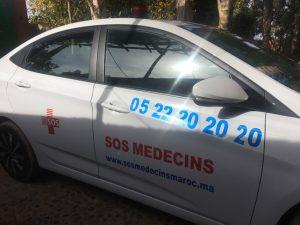voiture sos medecins maroc